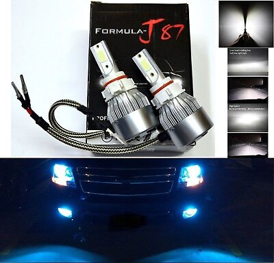 LED Kit C6 72W PS24W 5202 H16 3000K Yellow Two Bulbs Fog Light Replacement Lamp