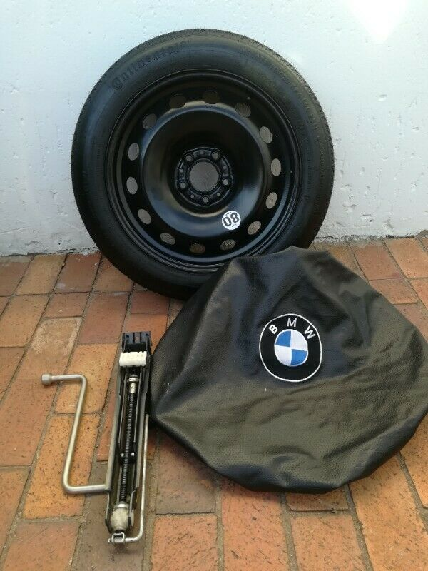 BMW G01 X3 Brand New Space Saving Spare Wheel kit Incl Tools and Boot Cover R6400