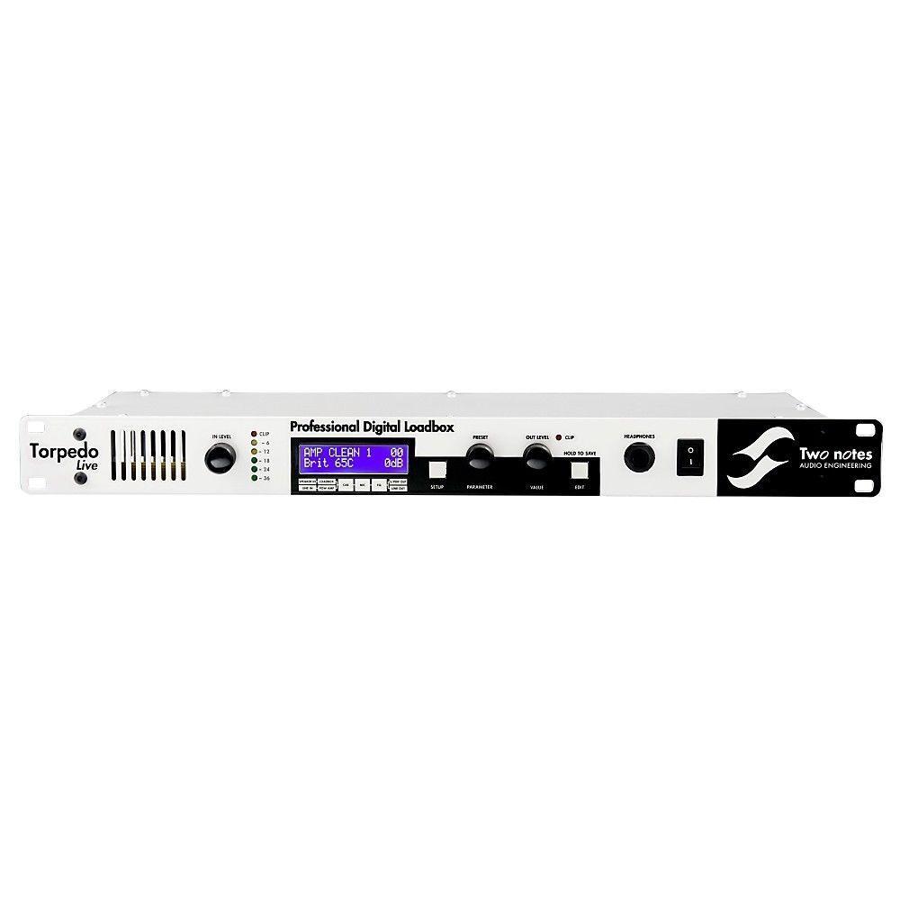 Two Notes Torpedo Live Digital Loadbox and Speaker Simulator - NEW