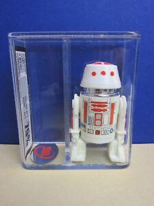 Figurine rétro R5 D4 Droid de Star Wars 1978 Hk Original Ukg Pas Afa