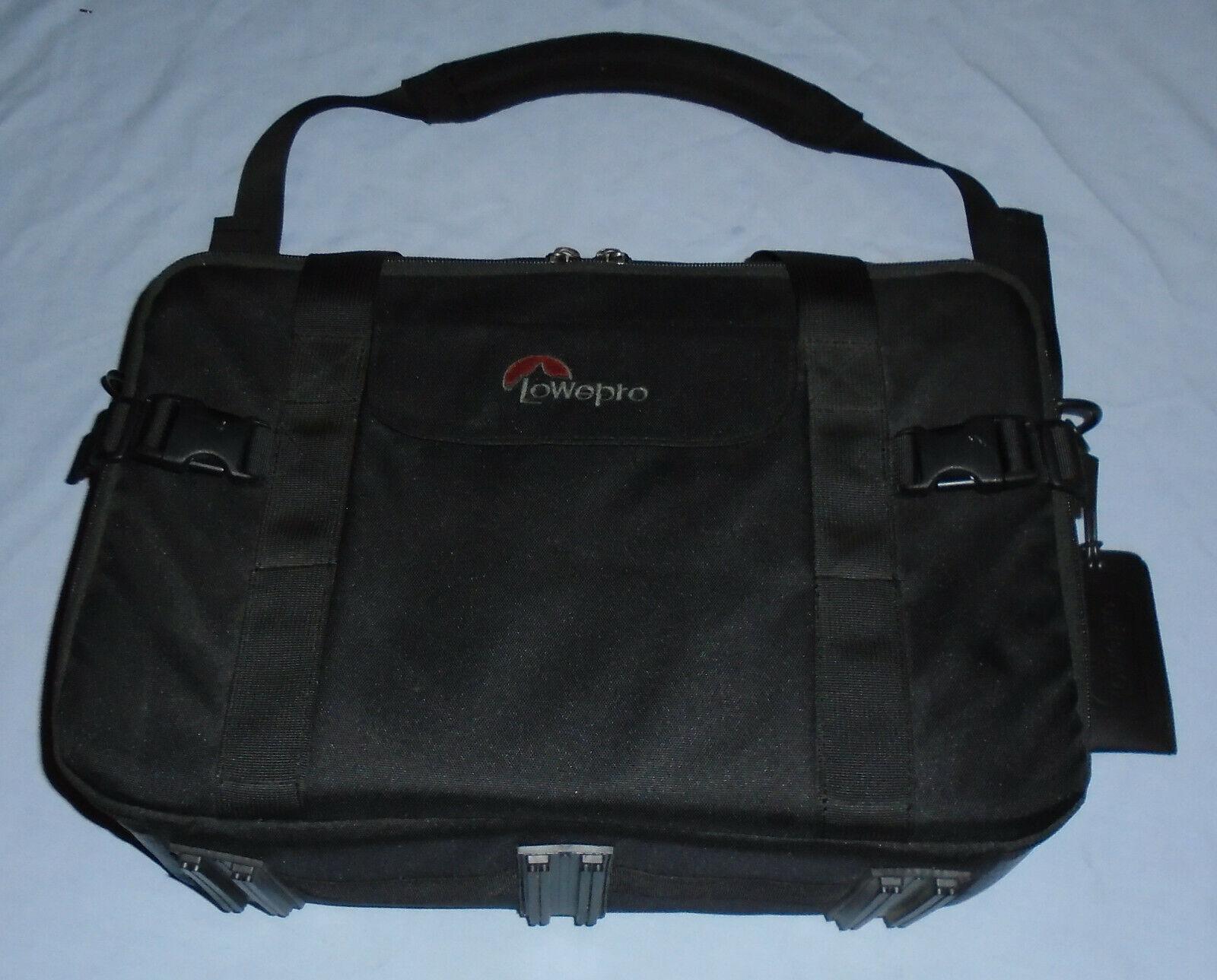 Vintage Lowepro Camera / Lens Camcorder Bag Holder Black Shoulder Bag Carry Case