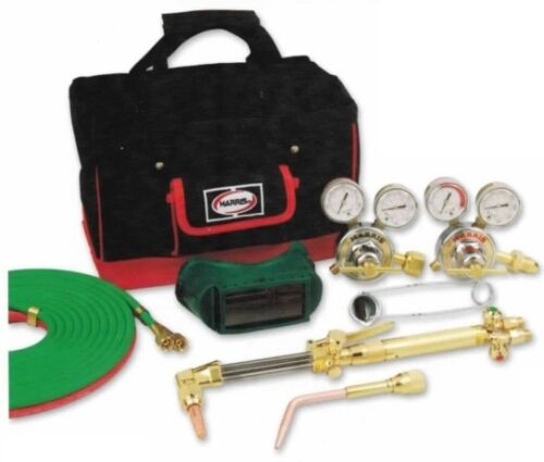 HARRIS STEELWORKER DLX WELDING//CUTTING OUTFIT 4403224