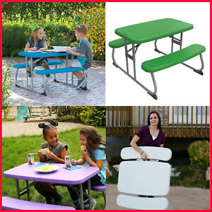 No Tax Lifetime Childrens Picnic Table Stain Resistant Easy Clean