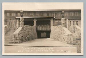 nyack lodge emigrant gap rppc california vintage photo highway 40 ca 1940s ebay ebay