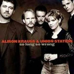 ALISON-KRAUSS-amp-UNION-STATION-So-Long-So-Wrong-SHOP-SOILED-cover-creased-CD-NEW