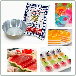 Agar agar powder thai food desserts gelatin vegetable for Agar agar cuisine