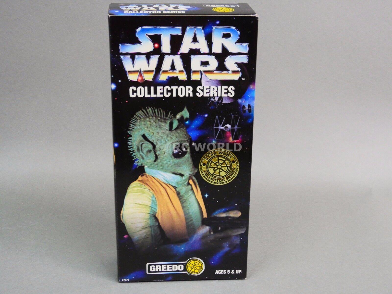 Retro Estrella Wars Greedo colector serie 12  acción figura  OA3