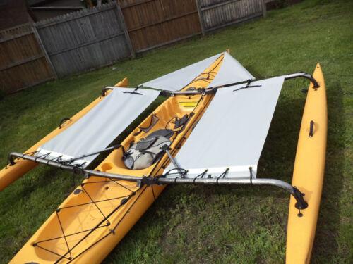front shield not incl Gray Hobie  Adventure  island  Kayak Side Trampoline