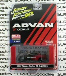 Johnny-Lightning-MiJo-Exclusive-50th-Anniversary-1999-NISSAN-SKYLINE-GT-R-BNR34