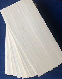 1 × Solid Poplar/Tulip Wood Sheets 3mm, 4mm or 6mm