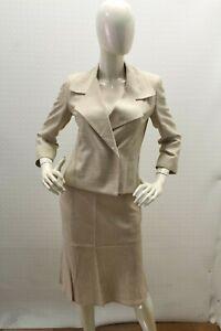 Vestito-PINKO-Donna-Dress-Tailleur-Kleid-Seta-Abito-Woman-Taglia-Size-40-XS