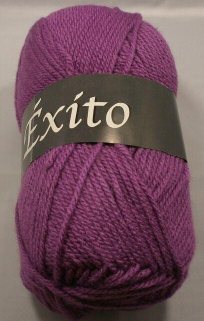 """100 Gr. """"Exito"""" von Lanas Stop Wolle - Schnellstrickgarn 100% Acryl Fb.604 - 915"""
