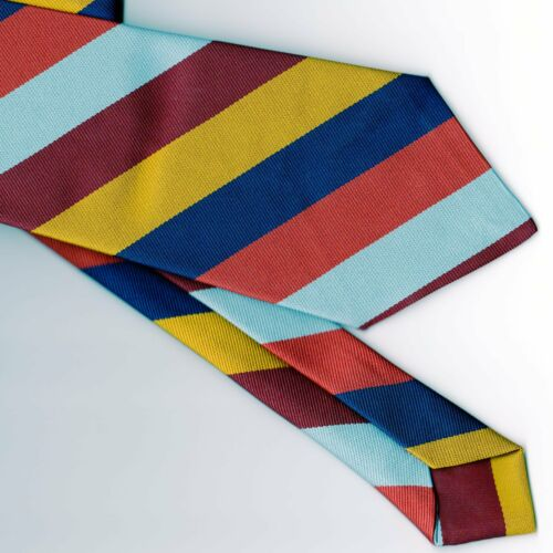 Regimental Tie Polyester Stripe Royal Air Force Regiment RAF Regiment