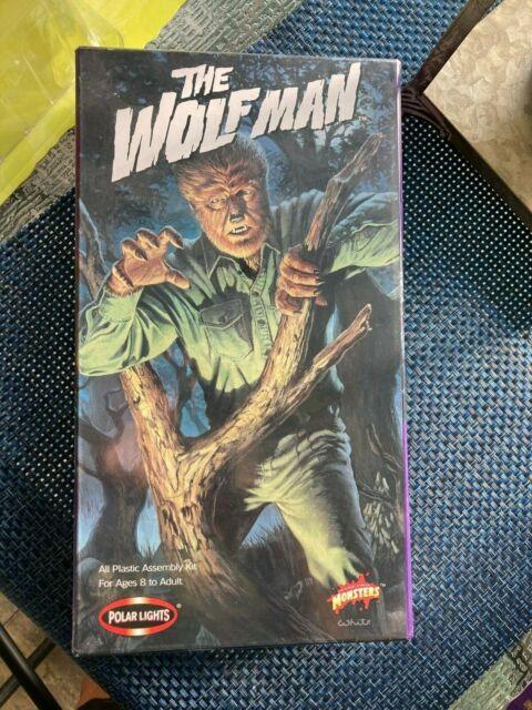 THE WOLF MAN MODEL KIT #5018 1998 POLAR LIGHTS - NEW IN SEALED BOX