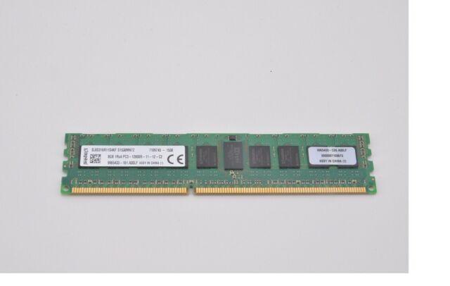 Kingston SL4D316R11D8HE 4GB 2Rx8 PC3-12800R ECC Server Memory 4x 4GB 16GB