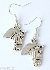 Hand Made Horse Head Earrings HCE314