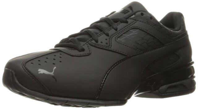 PUMA Men's Tazon 6 Fracture FM Cross trainer Shoe Black Sz 9 US