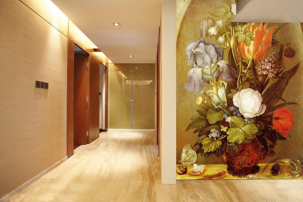 3D Lizard Flowers 78 Wall Paper Murals Wall Print Wall Wallpaper Mural AU  Kyra