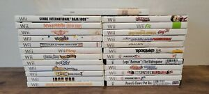 Nintendo Wii Used Games Lot of 25 Games