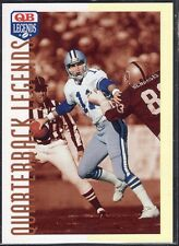 1991  DANNY WHITE - Q.B. Legends Football Card- # 45 -  Dallas Cowboys