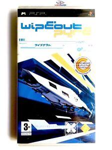 Wipeout-Pure-Psp-PLAYSTATION-Neuf-Scelle-Retro-Scelle-Produit-Nouveau-Pal-Spa