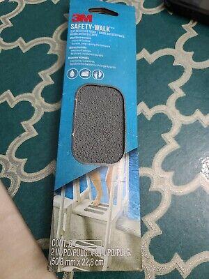 3M Safety-Walk Slip Resistant Tread Indoor//Outdoor Gray 6 Strips *Brand New*