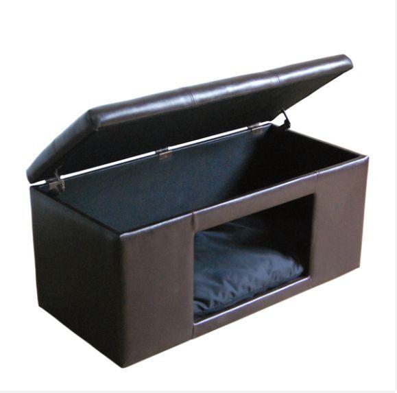 Surprising Small Dog Furniture Puppy Bed Or Cat Pet Crate Ottoman Bench Hidden House Uwap Interior Chair Design Uwaporg
