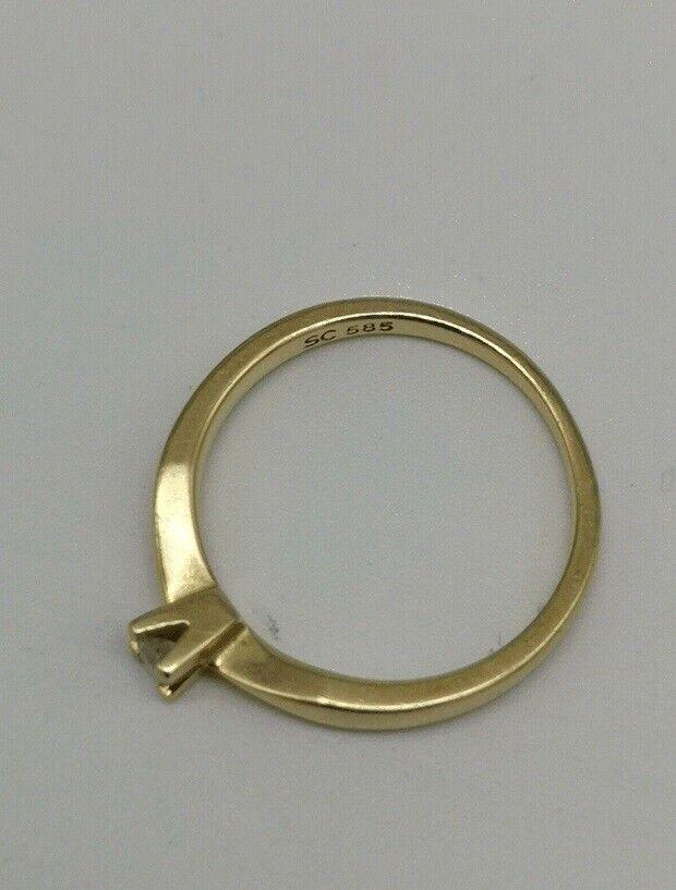 Fingerring, guld, PANDORA GULD OG BRILLANT