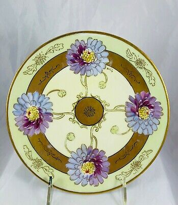 Favorite Bavaria Hand Painted Dish Artist Signed Briggs