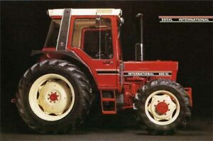 CASE-INTERNATIONAL-HARVESTER-885-XL-80-039-s-TRACTOR-SALES-BROCHURE-POSTER-ADVERT-A3