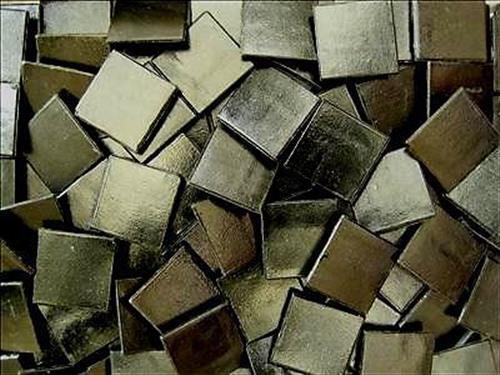 75 Pack Black 20mm Vitreous Mosaic Tiles Tesserae