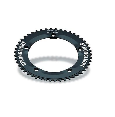 STRONGLIGHT ZICRAL 144BCD TRACK 1 8 inch CHAINRING  BLACK 46T