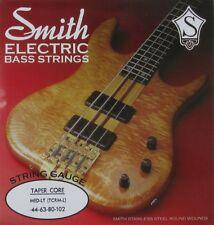 KEN SMITH TCRM-L STAINLESS STEEL TAPER CORE BASS STRINGS, MEDIUM LIGHT. 44-102