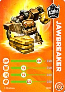 Knight Light Skylanders Trap Team Stat Card Only!