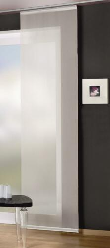 Flächenvorhang Schiebegardine SET 3-4-5-6er Digitaldruck Technik 084557-6007