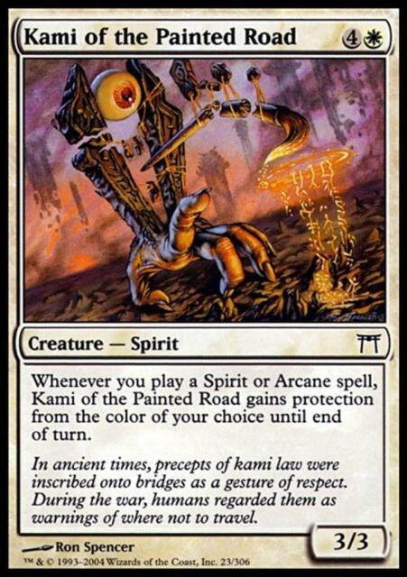 MTG Magic - (C) Champions of Kamigawa - Kami of the Painted Road - SP