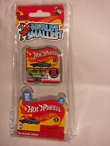 Details about HOT WHEELS Twin Mill 1969 WORLD SMALLEST HOT WHEELS DIE-CAST  IN BLISTER PACK