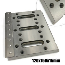 Electric Wire Edm Cutter Fixture Board Stainless Fixture Jig Tool 120x150x15mm