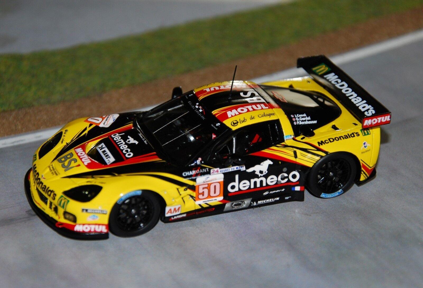 Chevrolet corvette zr1 gtlm larbre competion 24h du mans 2011 spark