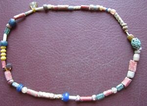 Authentic-Ancient-Lake-Ladoga-VIKING-Artifact-gt-Beaded-Necklace-RJ-71