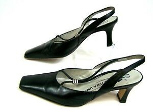 cheaper e1919 290b0 Details zu edle PETER KAISER Slingback Pumps Damen Schuhe Gr 35 UK 2,5  Leder Sandalen