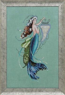 Mirabilia Designs - MD125 - Siren And The Shipwreck Chart by Nora Corbett