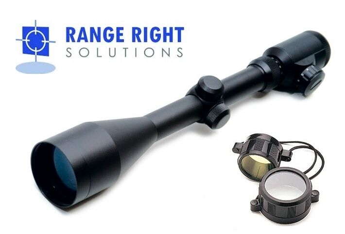 4-16x50 Red Green Illuminated Reticle Telescopic Rifle Scope - Range Right Solut