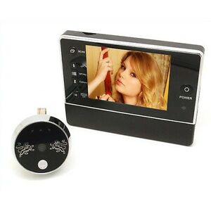"3 5"" Wireless Video Door Bell Digital Phone Doorbell Intercom Security Camera"