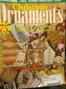 Cross-Stitch-Christmas-Ornaments-2003-Magazine-75-Designers-All-Shown
