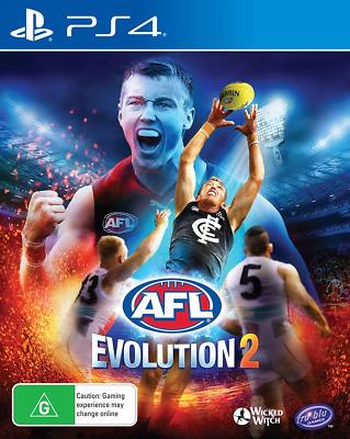 AFL Evolution 2 PS4 Game NEW