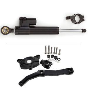 CNC Steering Damper Mounting Bracket Set for Kawasaki Z1000 2010 2011 2012 2013