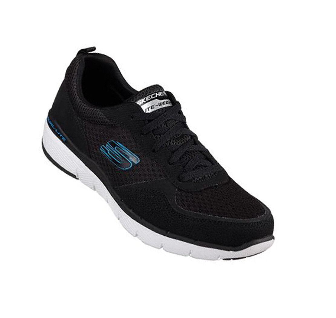 Skechers Flex avantage 52954 negro BLK calcetines cortos calzado deportivo nuevo