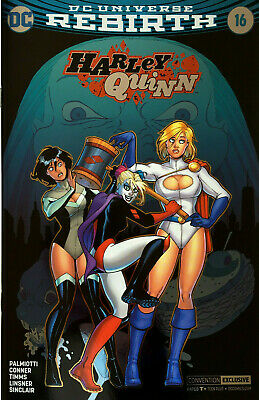 Harley Quinn #16 Foil Convention Exclusive Wondercon Variant Comic Book