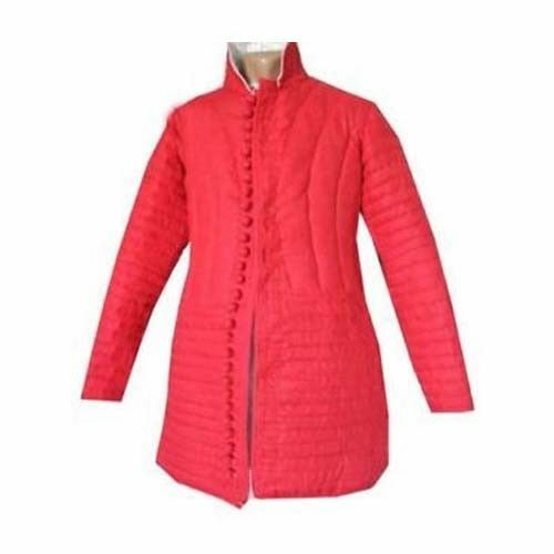 New Design Beautiful Cotton Red Gembesion Full Padded Gambeson